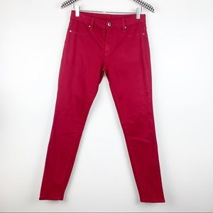 Blank NYC Red Skinny Jeans 30